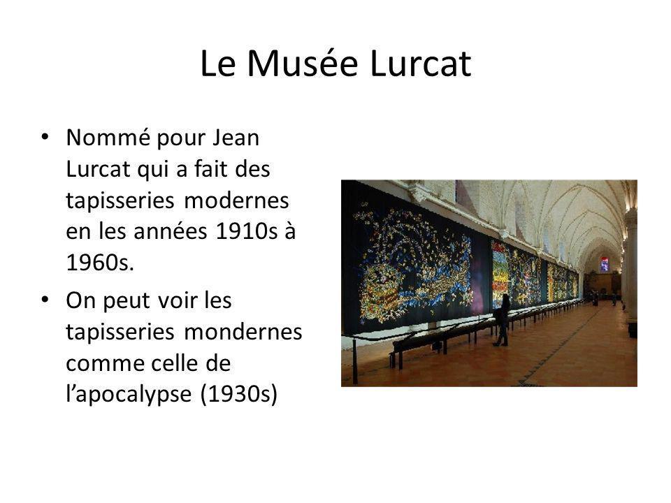 Le Musée Lurcat Nommé pour Jean Lurcat qui a fait des tapisseries modernes en les années 1910s à 1960s.
