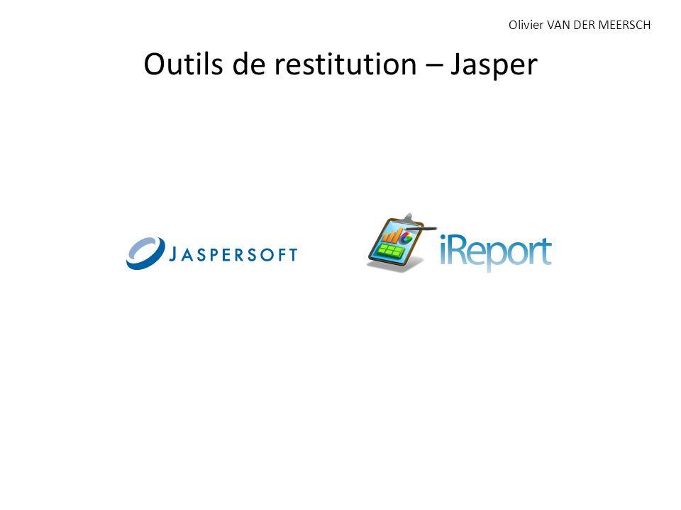 Outils de restitution – Jasper