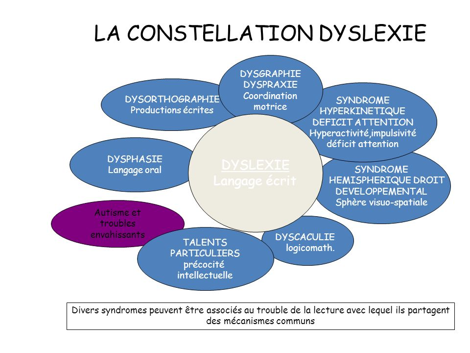 LA CONSTELLATION DYSLEXIE