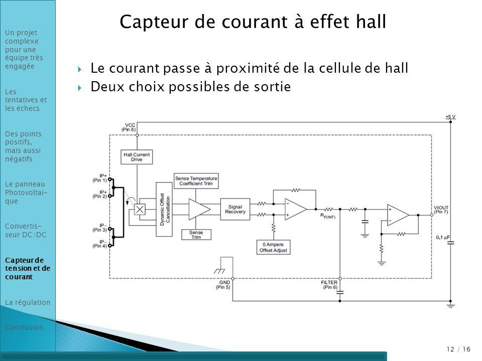Capteur de courant à effet hall
