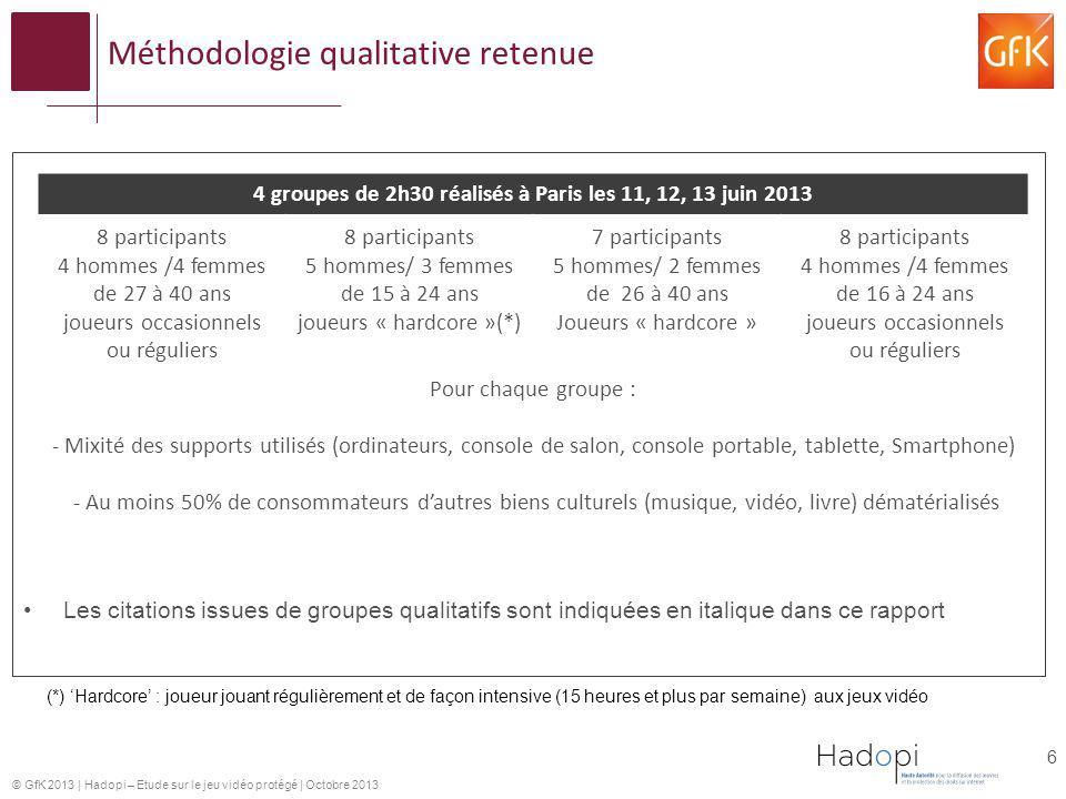 Méthodologie qualitative retenue