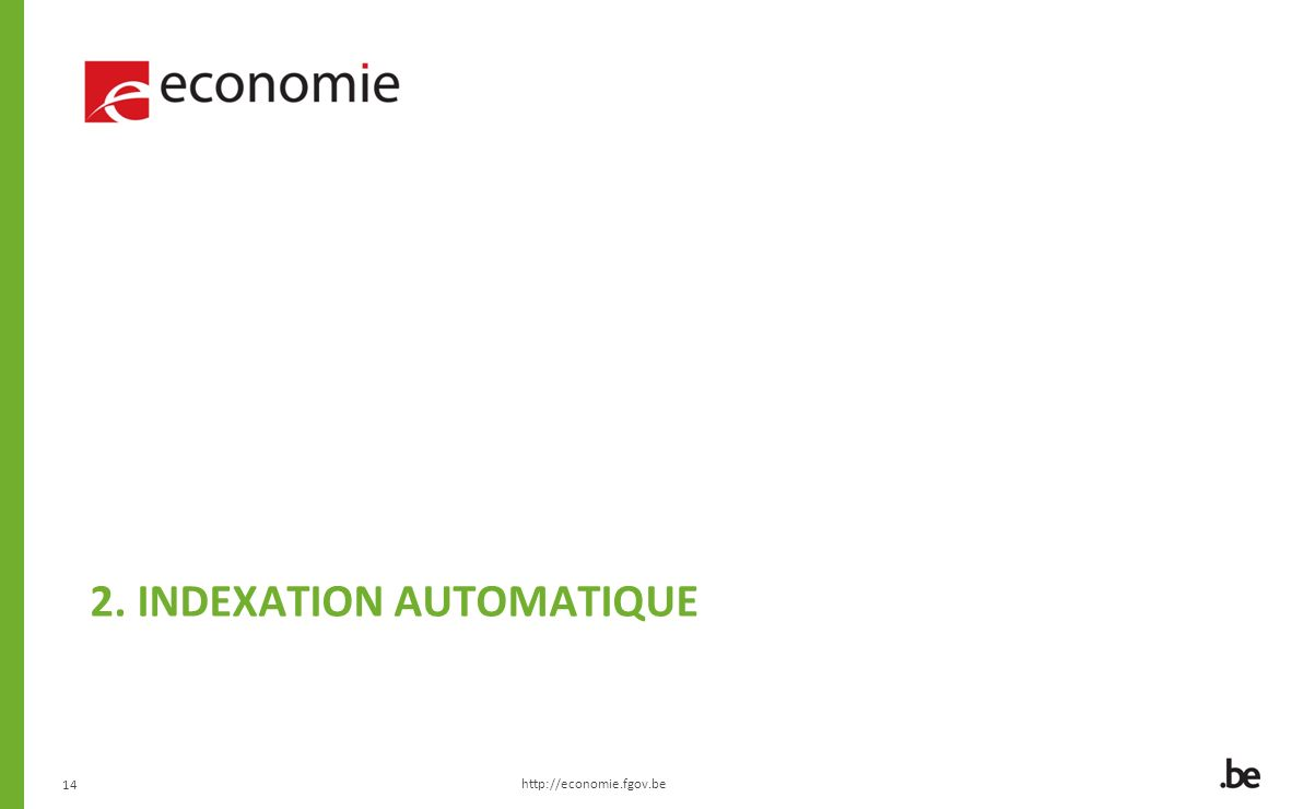 2. Indexation automatique