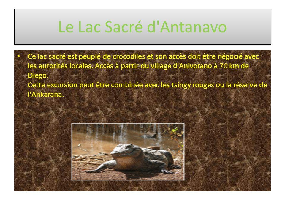 Le Lac Sacré d Antanavo