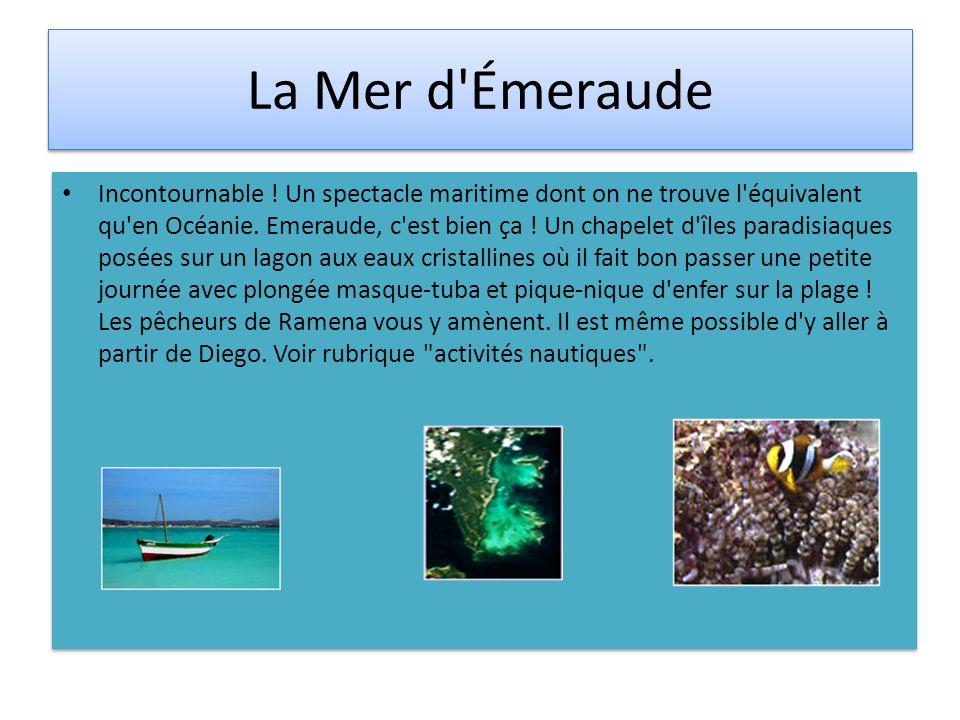 La Mer d Émeraude
