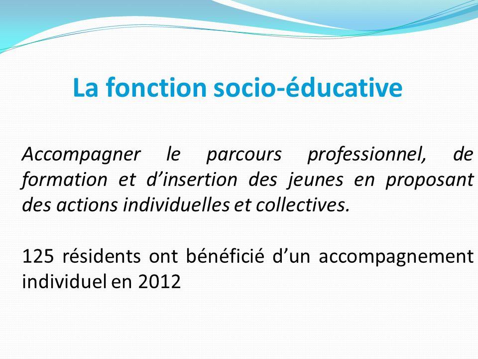 La fonction socio-éducative
