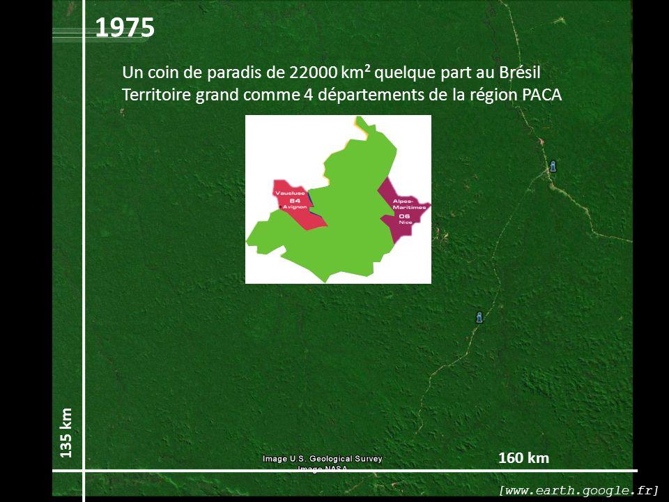 1975 Un coin de paradis de 22000 km² quelque part au Brésil