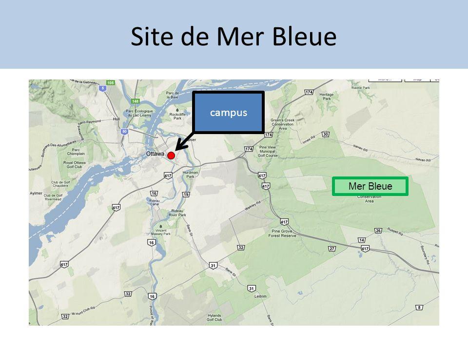 Site de Mer Bleue campus Mer Bleue Tue 13 Aug 2013