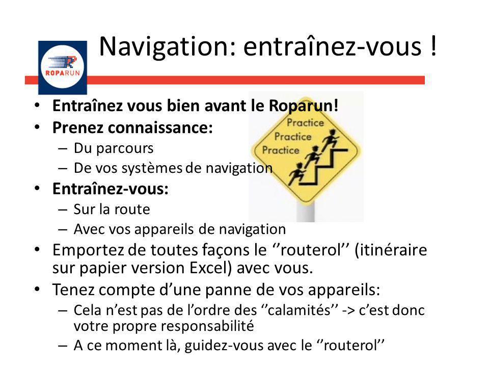 Navigation: entraînez-vous !