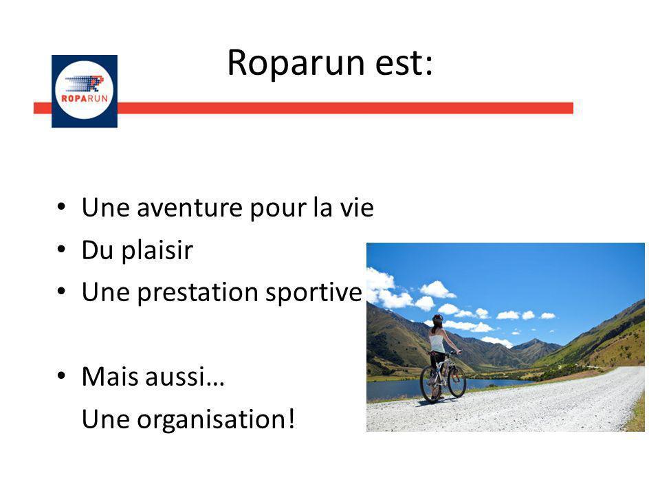 Roparun est: Une aventure pour la vie Du plaisir