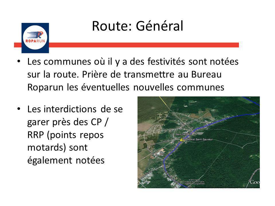 Route: Général