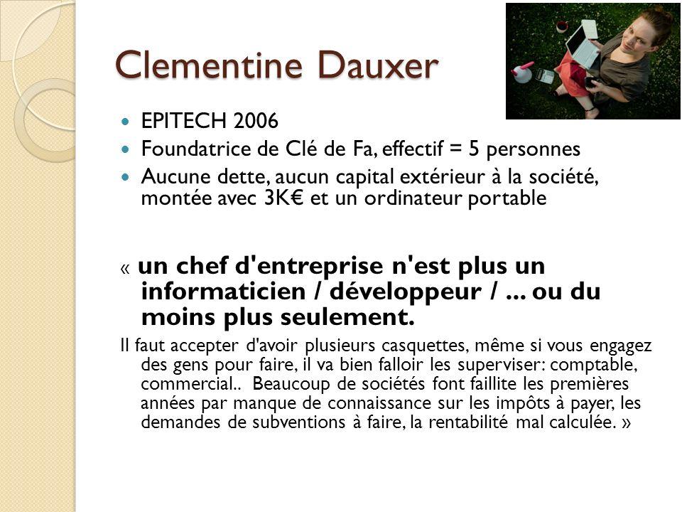 Clementine Dauxer EPITECH 2006