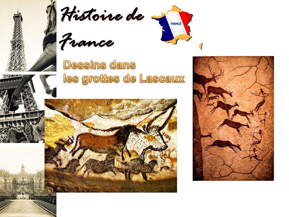 Histoire de France Dessins dans les grottes de Lascaux