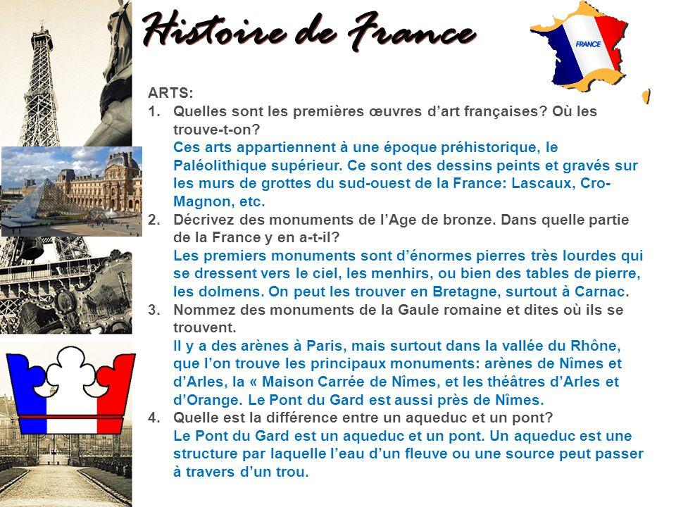 Histoire de France ARTS: