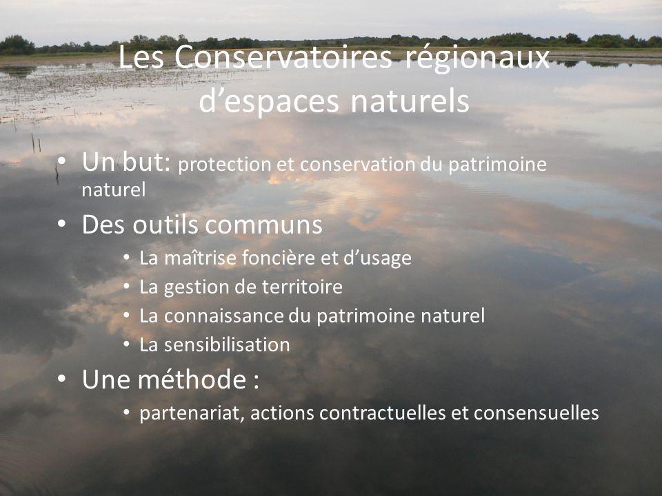 Les Conservatoires régionaux d'espaces naturels