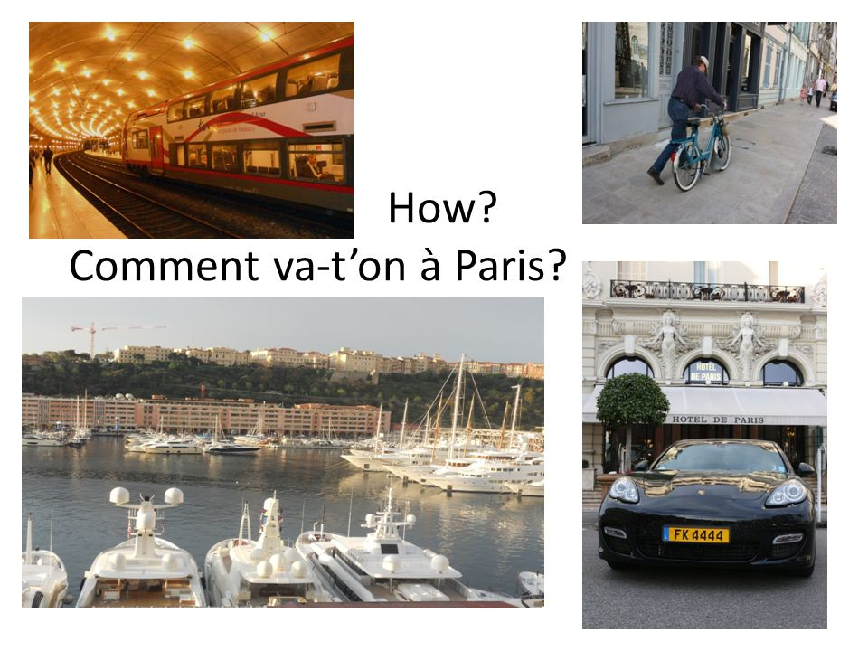 How Comment va-t'on à Paris