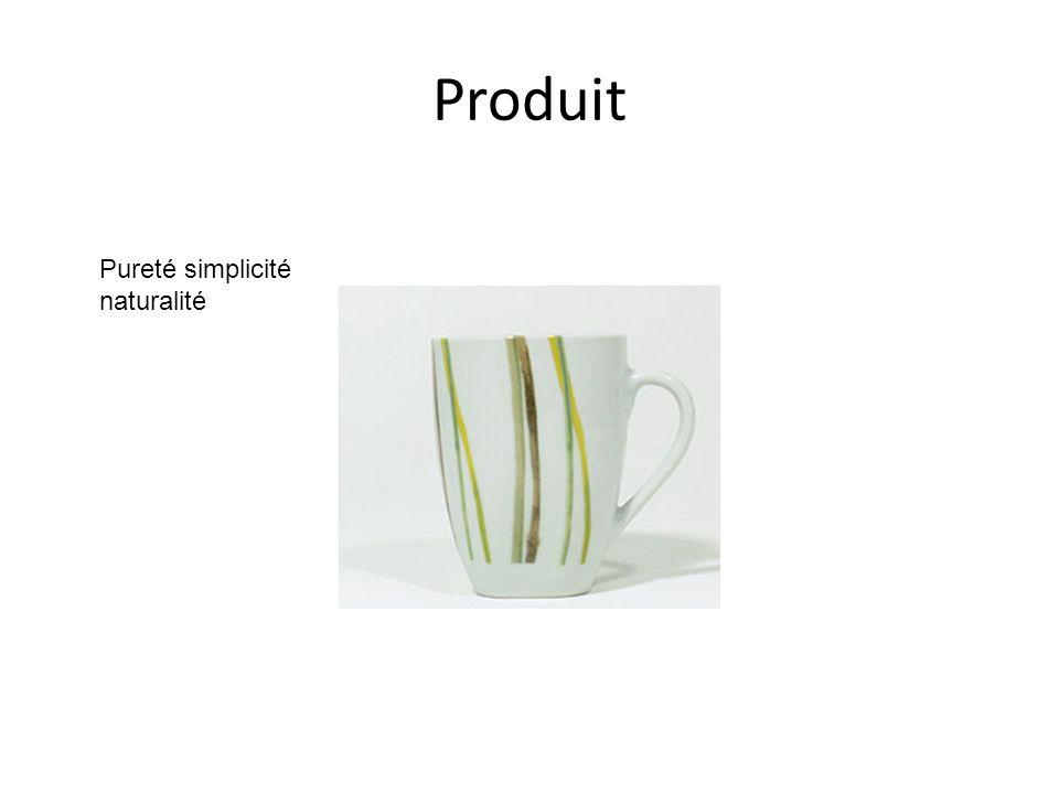 Produit Pureté simplicité naturalité