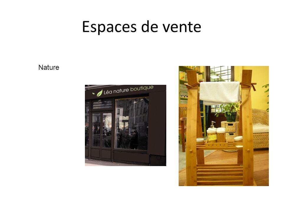 Espaces de vente Nature