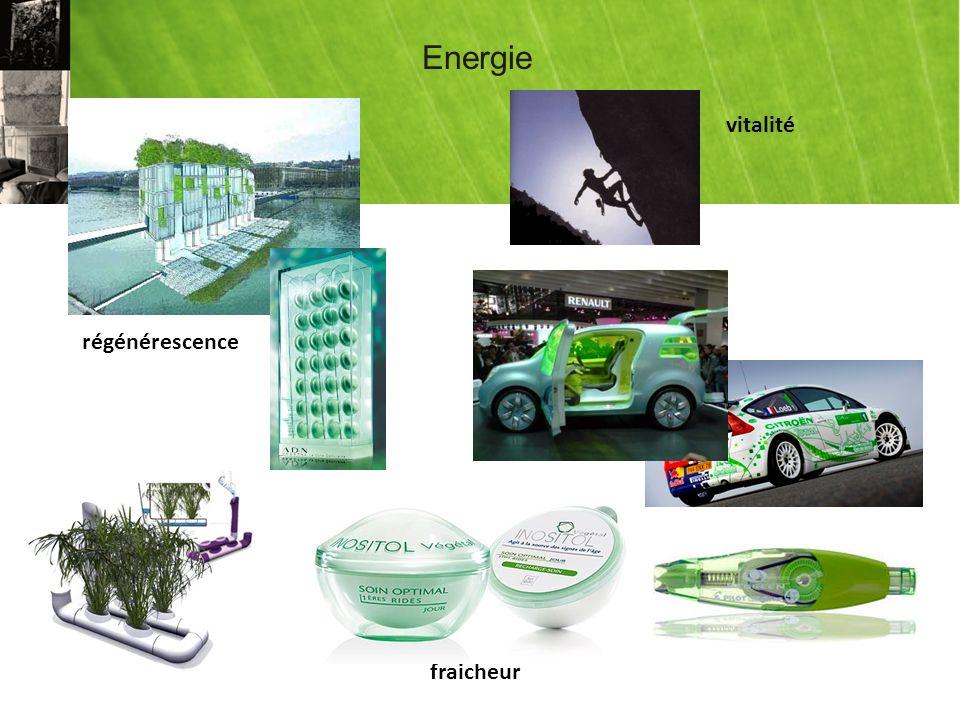 Energie vitalité régénérescence fraicheur