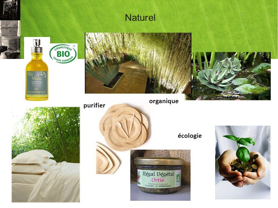 Naturel organique purifier écologie