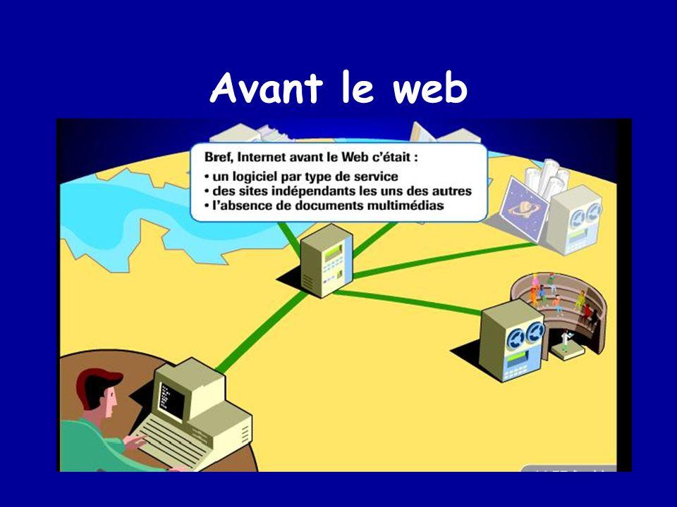 Avant le web