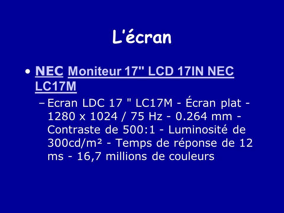 L'écran NEC Moniteur 17 LCD 17IN NEC LC17M