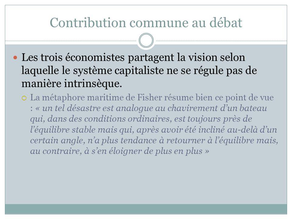 Contribution commune au débat