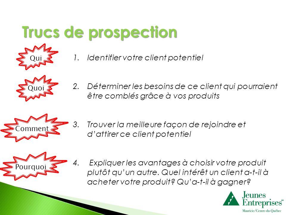 Trucs de prospection Identifier votre client potentiel