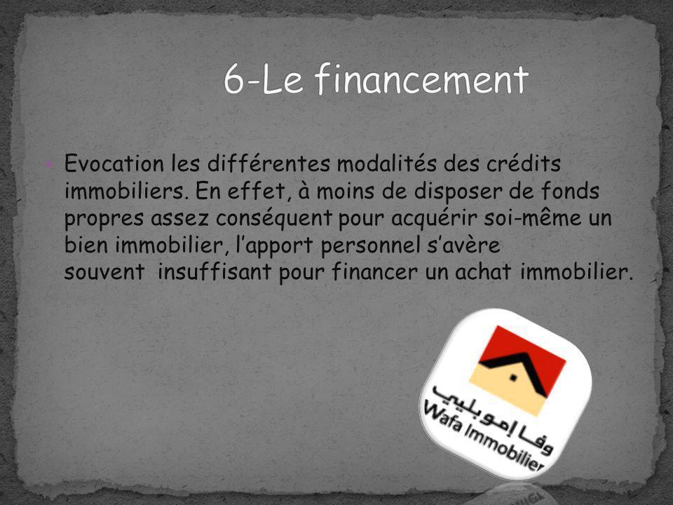 6-Le financement
