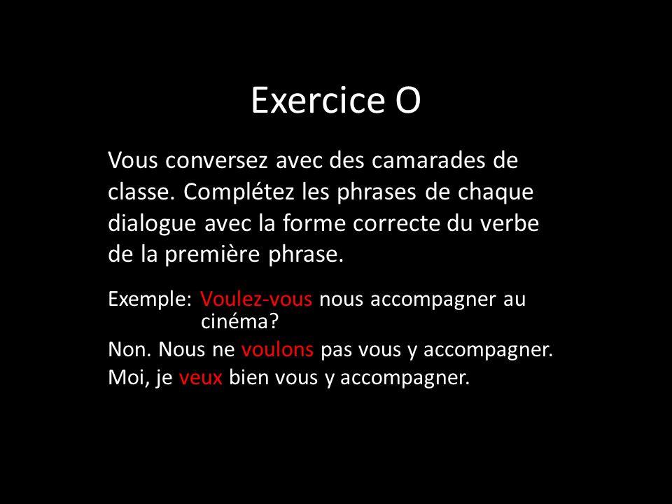 Exercice O