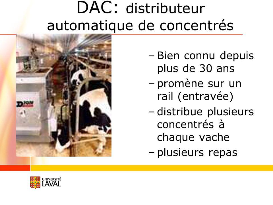 DAC: distributeur automatique de concentrés