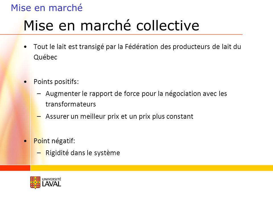 Mise en marché collective