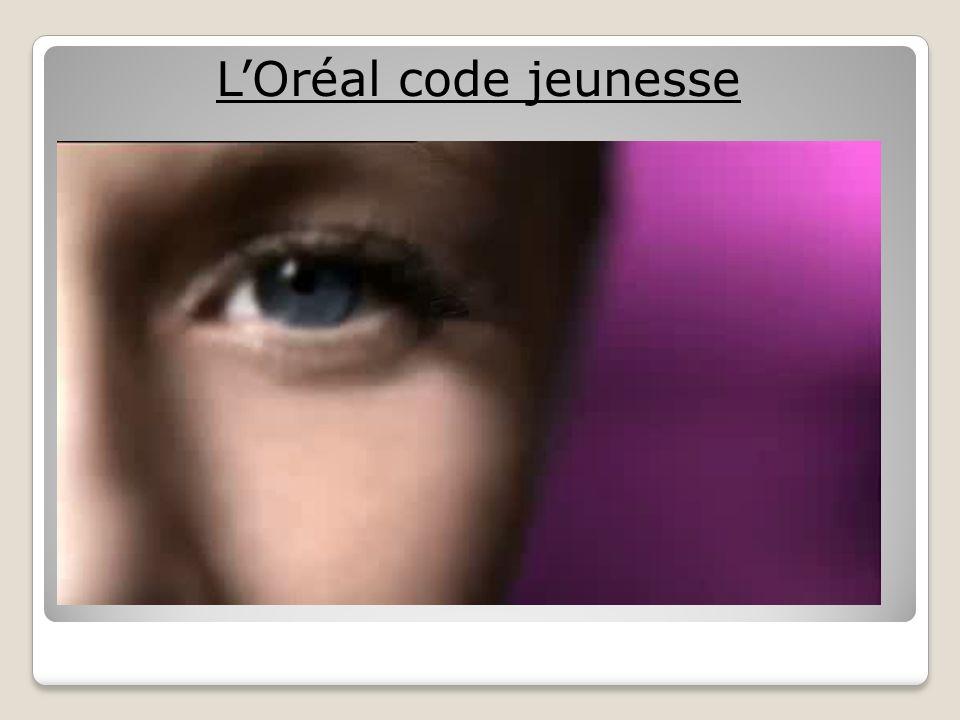 L'Oréal code jeunesse