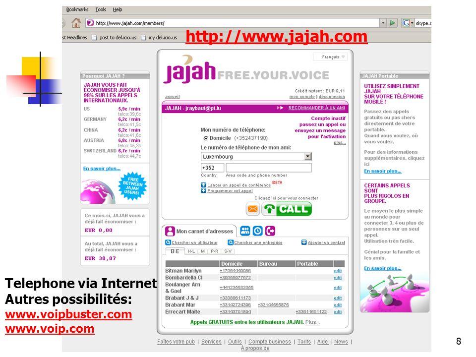 www.jajah.com http://www.jajah.com Telephone via Internet