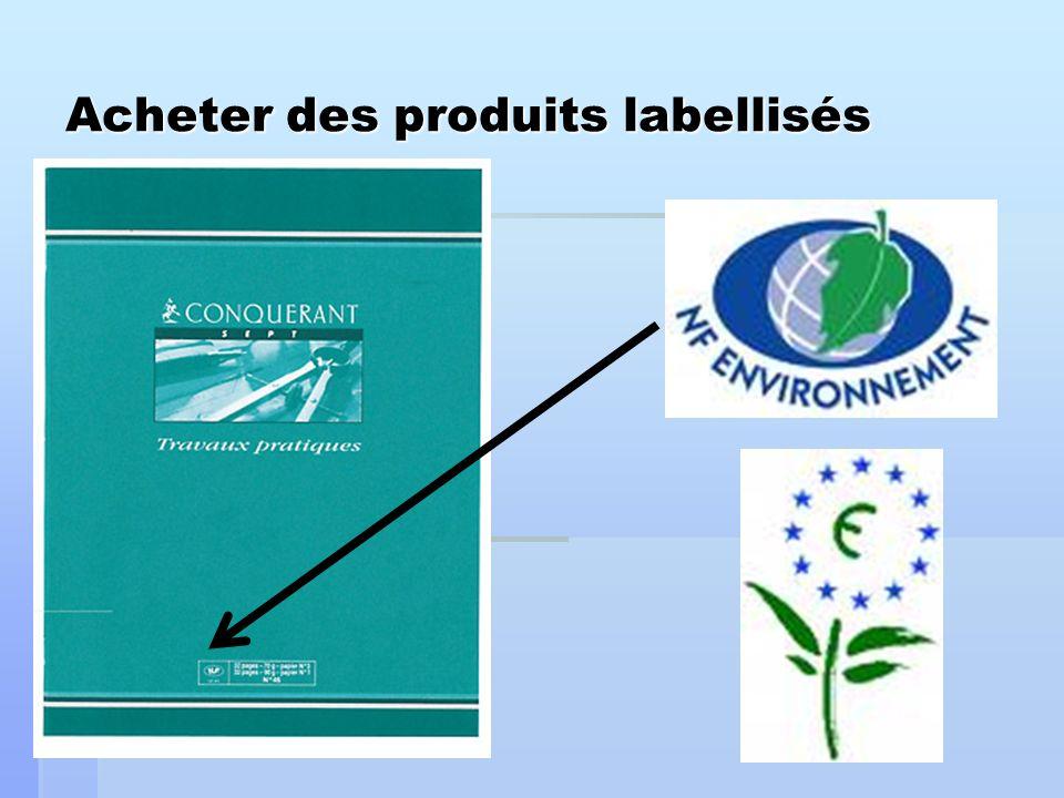 Acheter des produits labellisés