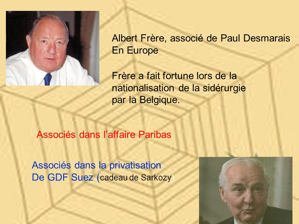 Albert Frère, associé de Paul Desmarais