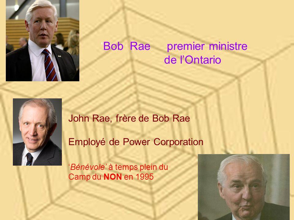 'Bob Rae premier ministre de l'Ontario