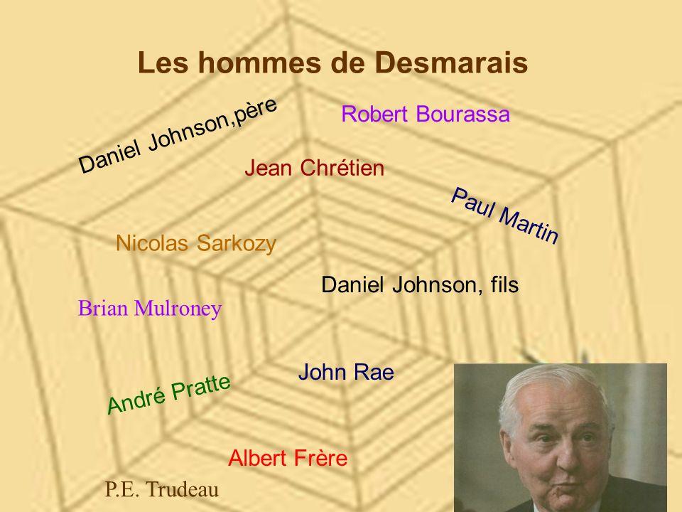 Les hommes de Desmarais