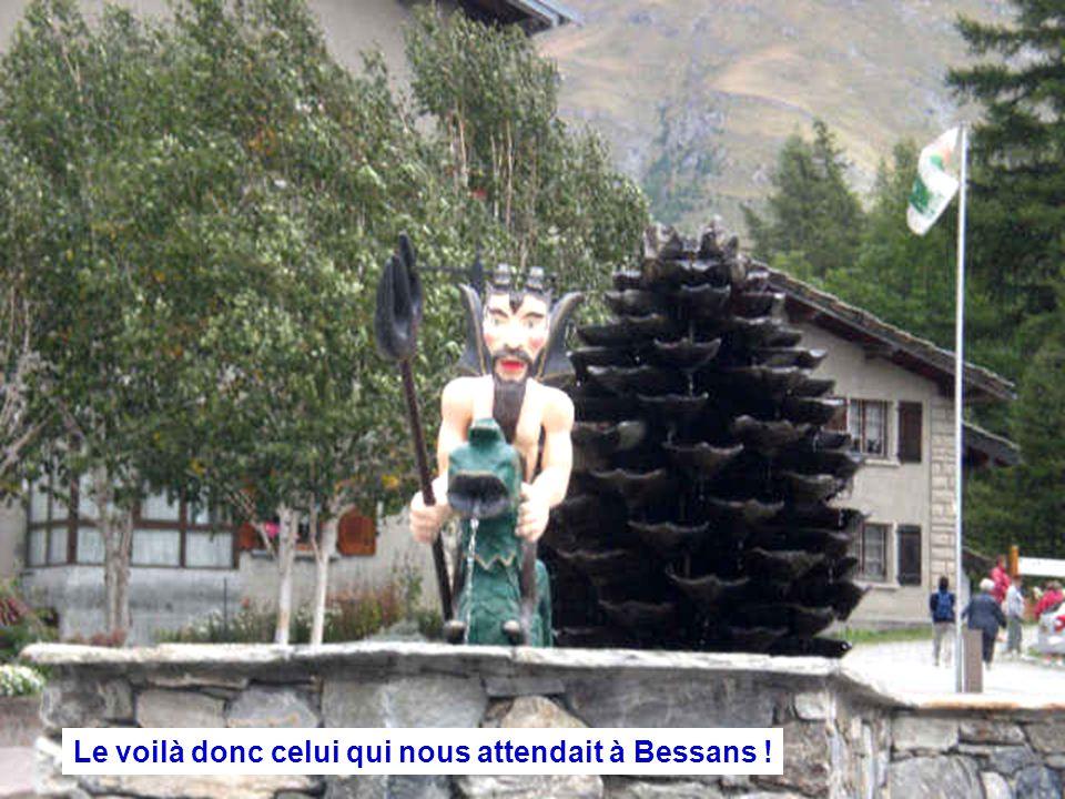 Le voilà donc celui qui nous attendait à Bessans !