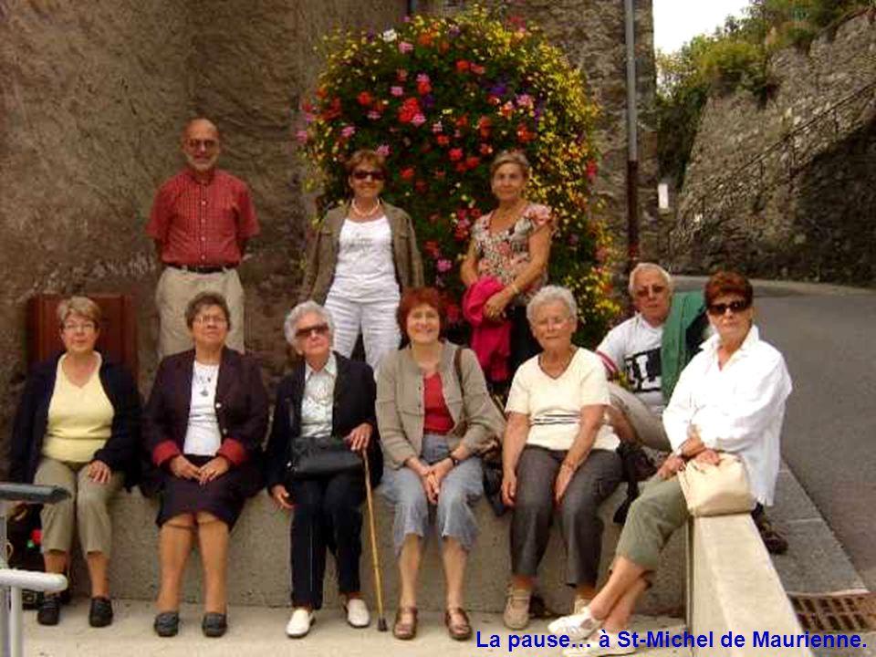 La pause… à St-Michel de Maurienne.