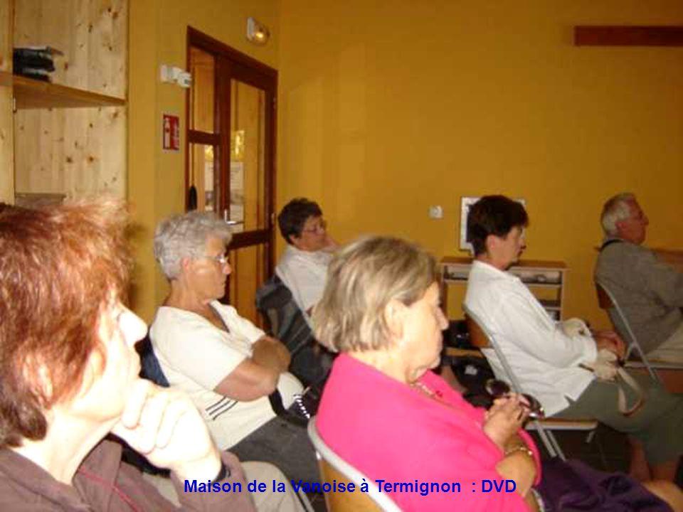 Maison de la Vanoise à Termignon : DVD