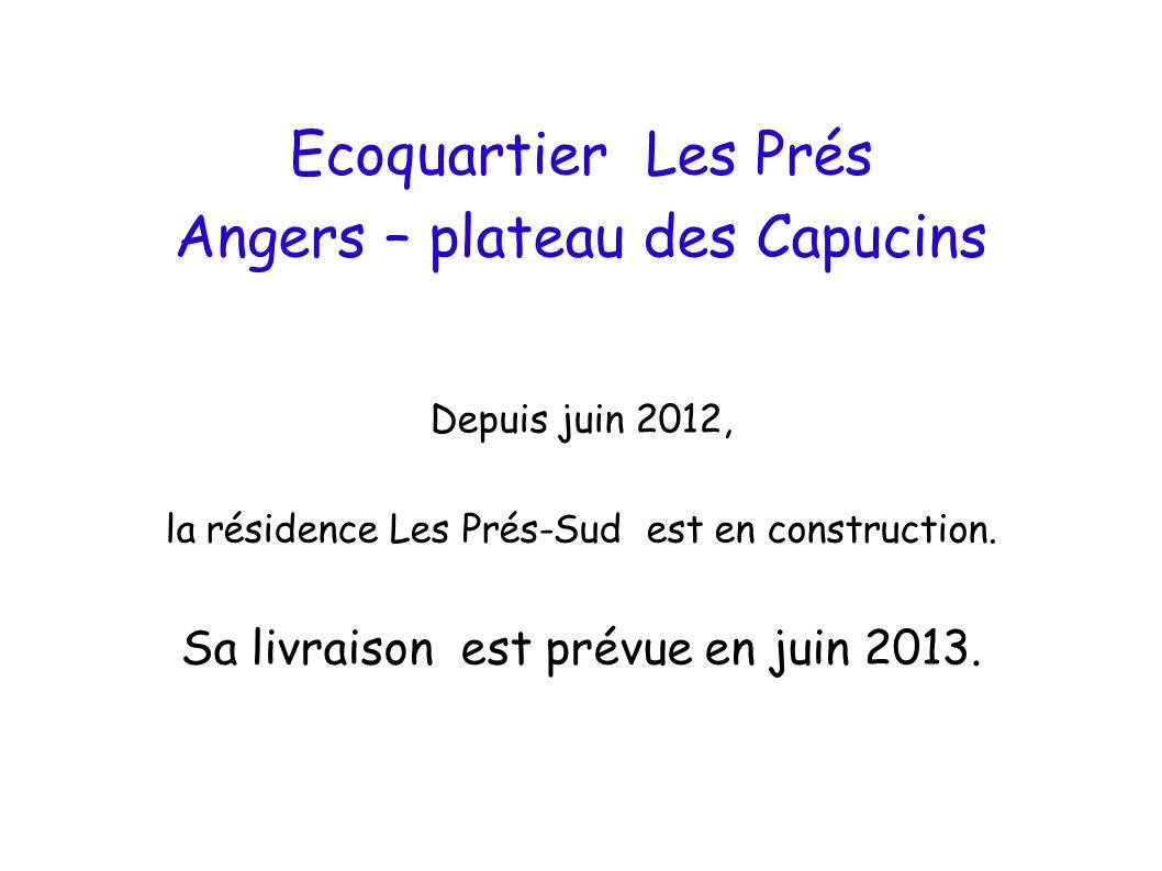 Angers – plateau des Capucins