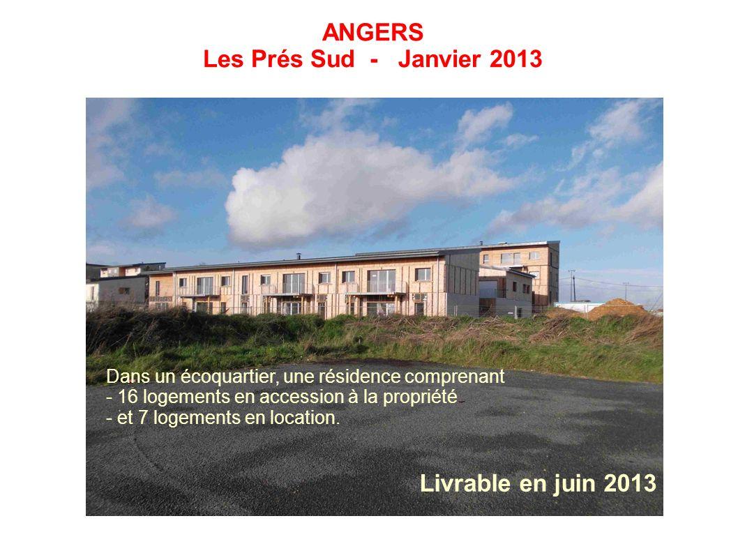 ANGERS Les Prés Sud - Janvier 2013