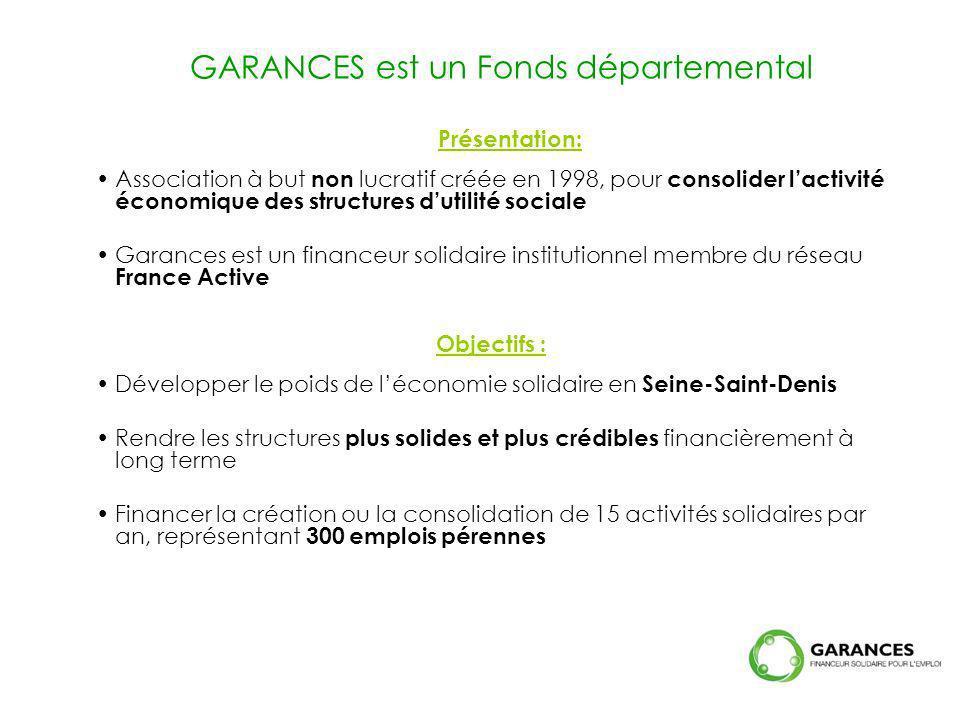 GARANCES est un Fonds départemental