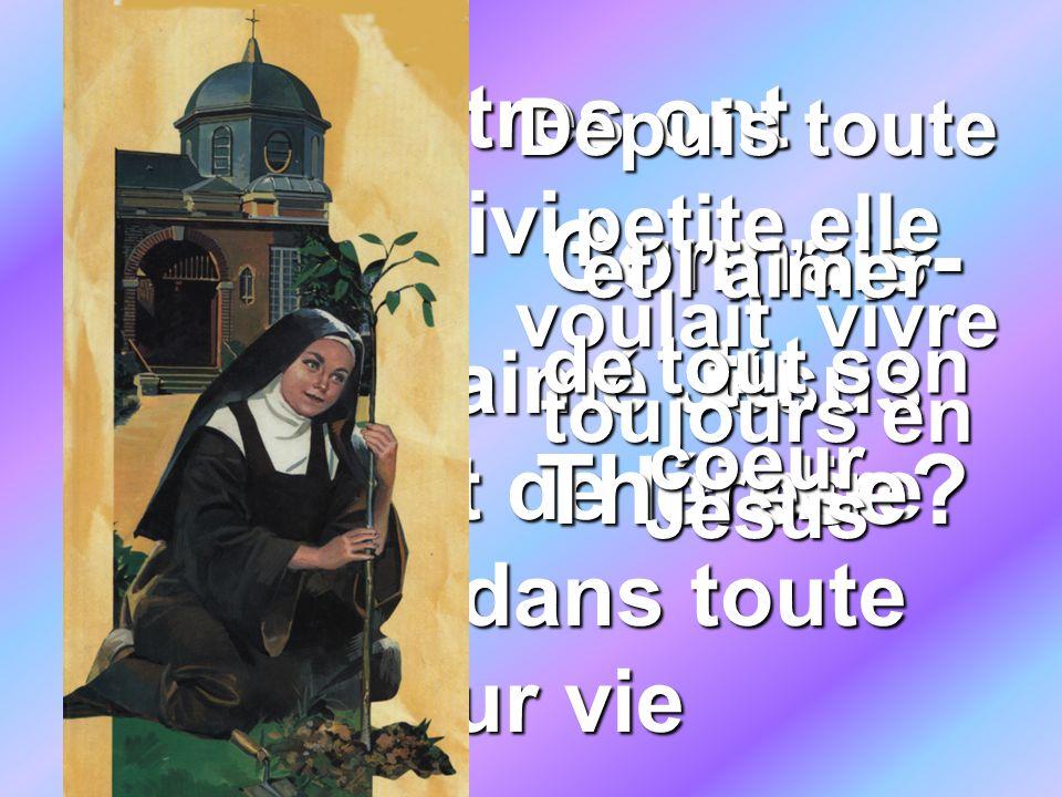 Connais-tu Thérèse D'autres ont suivi…..