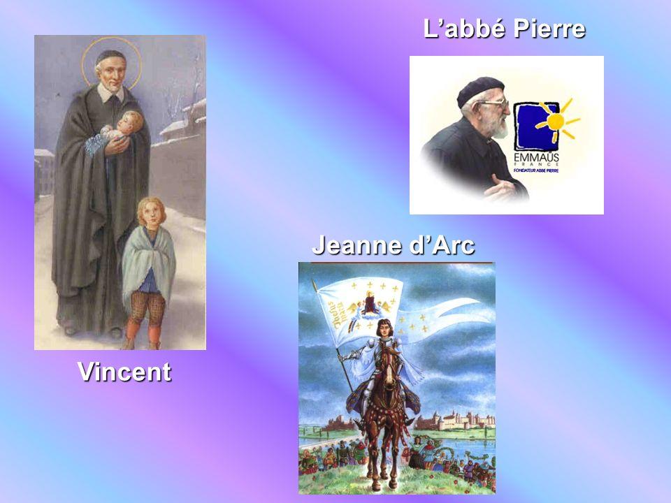 L'abbé Pierre Jeanne d'Arc Vincent