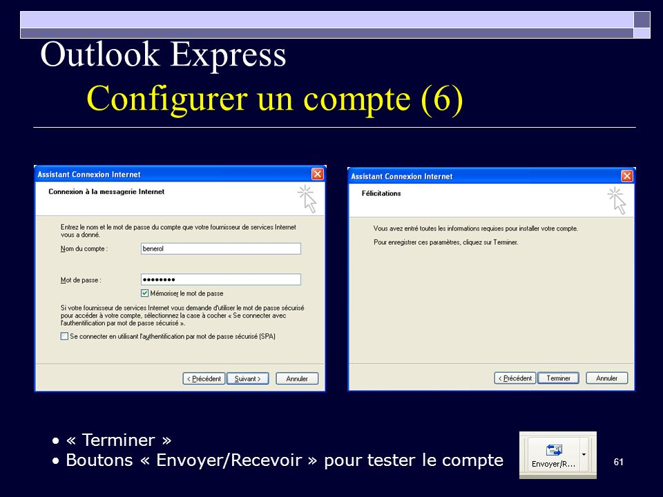 Outlook Express Configurer un compte (6)