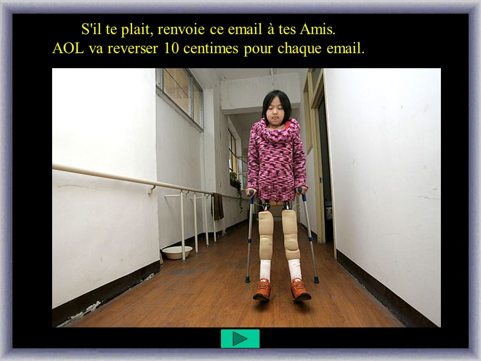 S il te plait, renvoie ce email à tes Amis