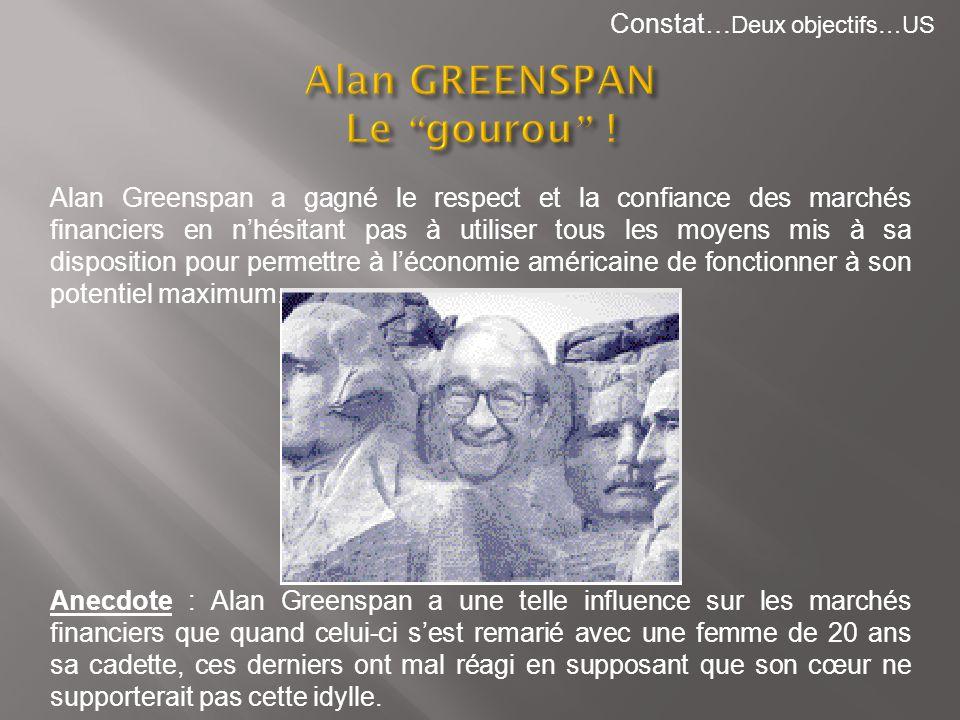 Alan GREENSPAN Le gourou !