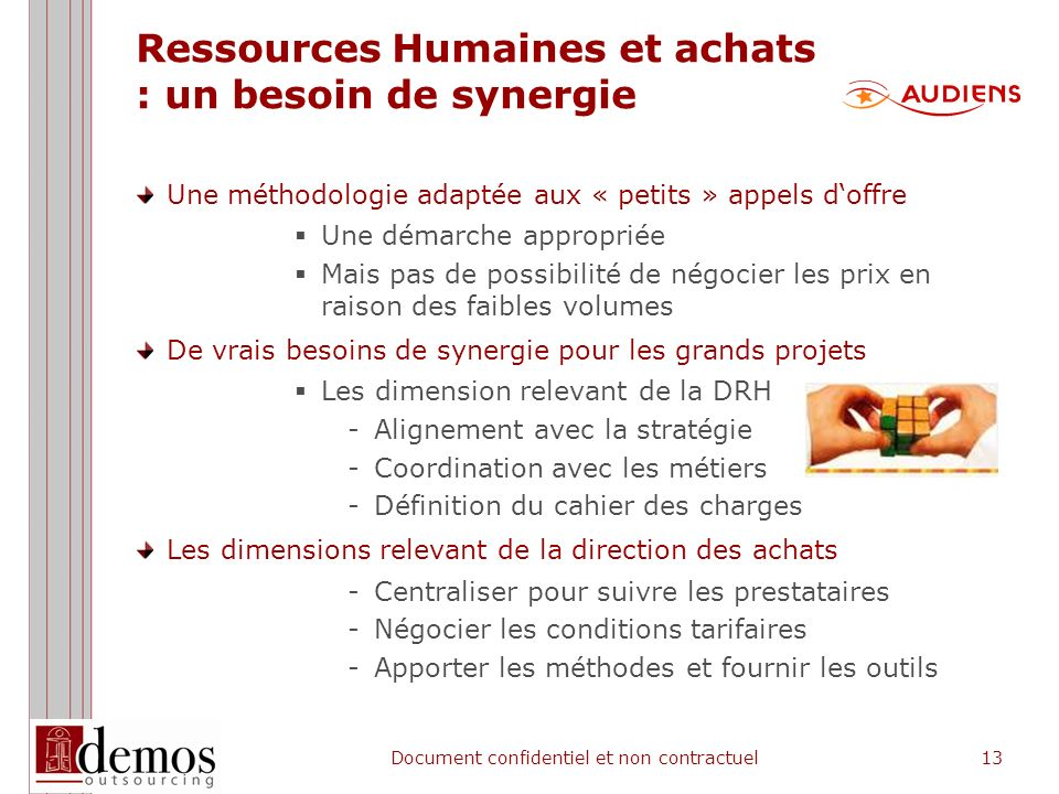3 - L'approche de Demos Outsourcing