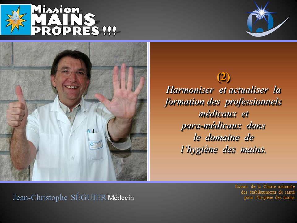 Jean-Christophe SÉGUIER Médecin